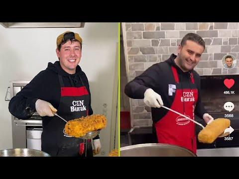 XXL-Käsesticks vom TikTok Chefkoch! - Kochen wie Burak 🧀