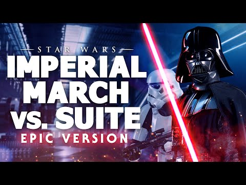 The Imperial March vs The Imperial Suite -  Star Wars Mashup