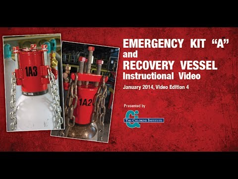 """A-DVD) Emergency Kit """"A"""" and Recovery Vessel Instructional Video."""