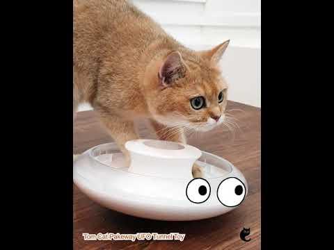 Tom Cat Pakeway UFO Tunnel Toy