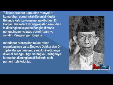 Contoh Biografi Ki Hajar Dewantara - Wo Ternyata