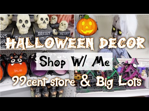Big Lots Halloween Decorations 2019.Repeat Halloween Decor Shop W Me 99 Cent Store Big