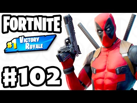 Unlocking Deadpool! Duos #1 Victory Royale! - Fortnite - Gameplay Part 102