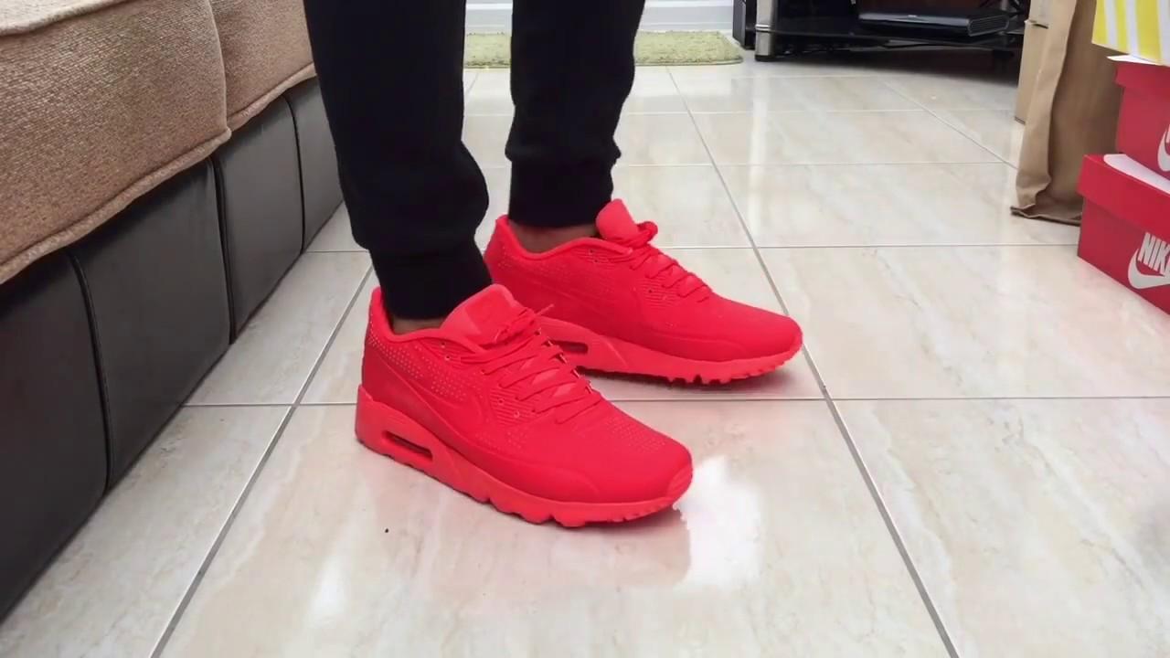 super popular 226dd 43307 Nike Air Max Ultra Bright Crimson - Quick On Feet