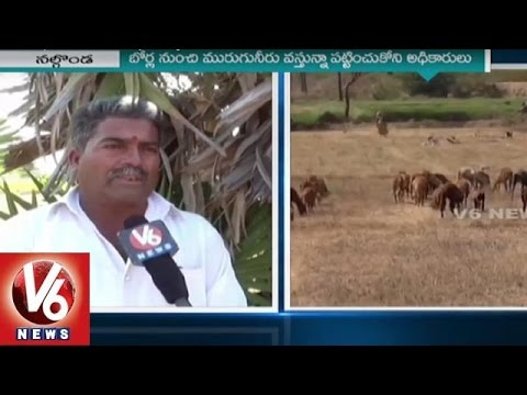 Pharma Companies kills Greenery In Nalgonda | Ground Water Polluted | V6 News