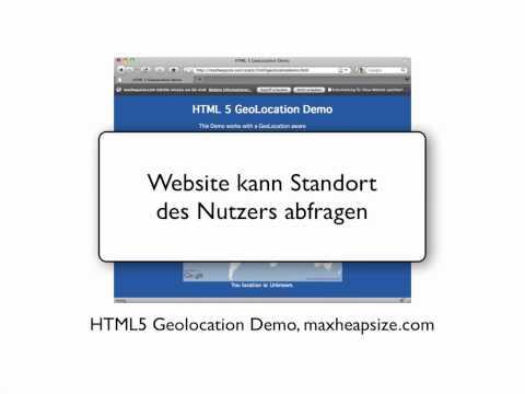 HTML5 API: Geolocation