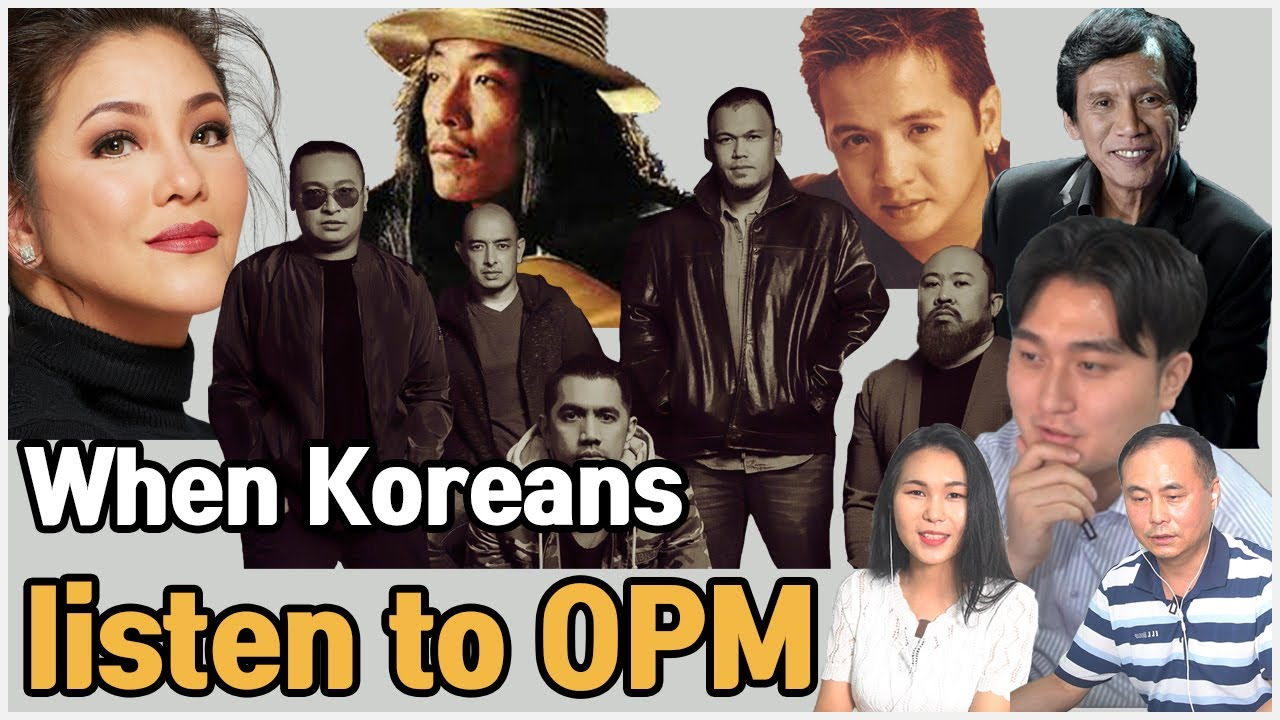 """Original Pinoy Music?""  Korean react to 5 OPM"