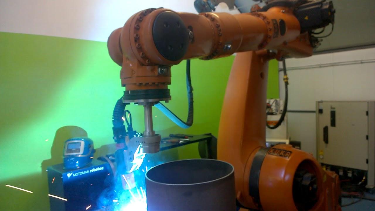 Wszystkie nowe Używany robot spawalniczy KUKA - na sprzedaż - YouTube DN52