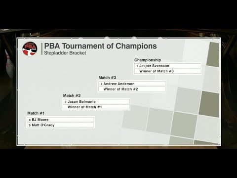 2018 PBA Tournament of Champions Stepladder Finals