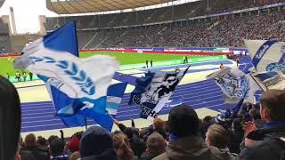Ostkurve Hertha Bsc - Stimmung Gegen T$g Hoffenheim 03.02.2018