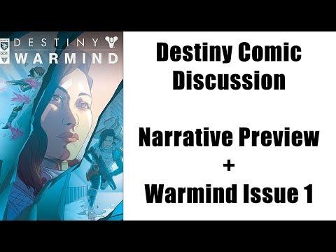 Destiny Comic Discussion - Narrative Preview + Warmind Issue 1