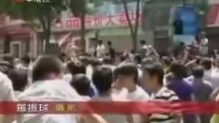 新疆迪化7 5事件后 烏魯木齊 漢人示威遊行