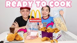 READY TO COOK McDONALD'S CHICKEN NUGGETS + CHICKEN McDO | COOK-IT-YOURSELF