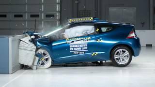 2011 Honda CR-Z Moderate Overlap IIHS Crash Test