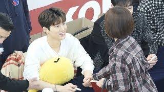 190112 비아이 BI 01  : 아이콘 iKON : I'm OK 팬사인회 : fancam : Fansign : 영등포
