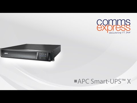 APC SMX3000RMHV2UNC Smart-UPS X 3000VA with Network