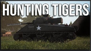 Hunting Tigers - Post Scriptum Gameplay (World War 2 Squad | Firefly Commander)