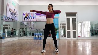 27 Mins Aerobic Dance Workout Full Body (At Home) // AMG Fitness