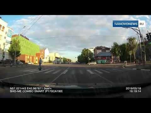 В Иванове сбили велосипедистку