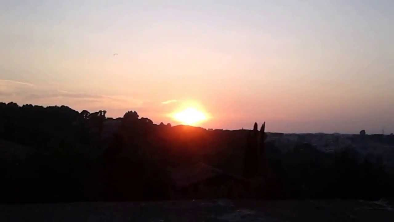 Beautiful Sunset... in Rome from\