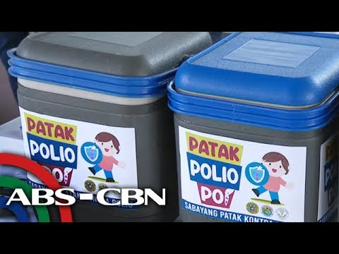 Publiko hinikayat na tangkilikin ang libreng bakuna vs polio | TV Patrol