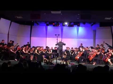 "Hunter College High School Orchestra plays Led Zepplin's ""Kashmir"""