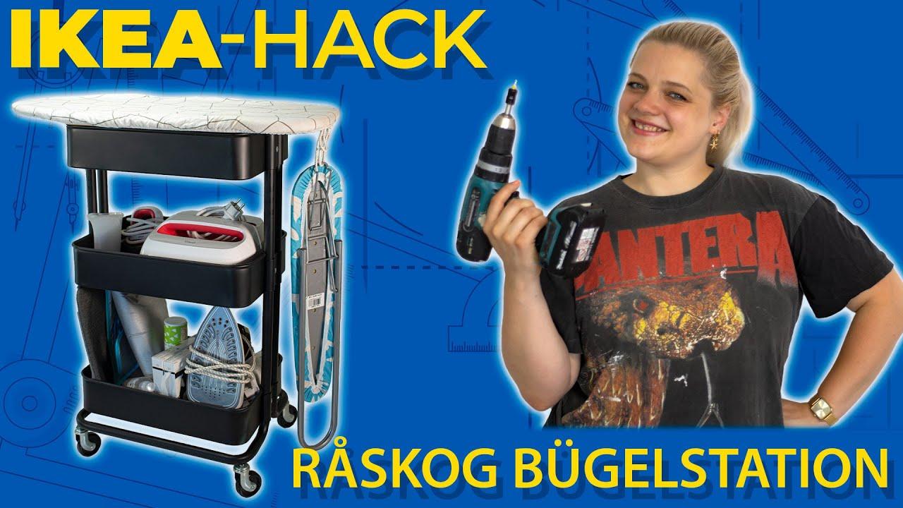 Ikea Hack Raskog Bügelstation