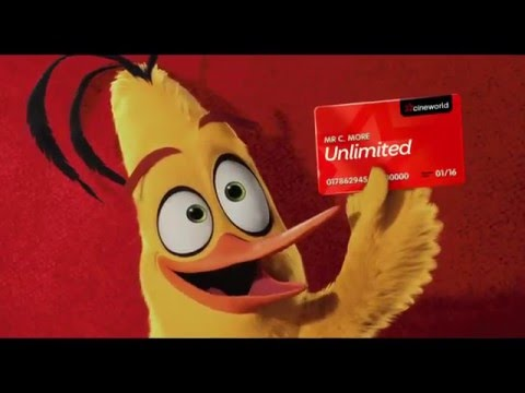 Angry Birds show what Cineworld's Unlimited Card is all about!