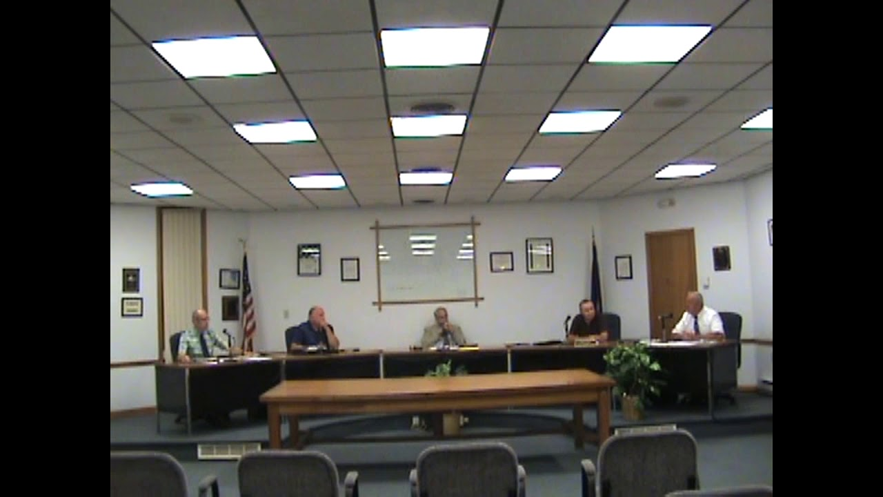 Rouses Point Village Board Meeting  9-4-18