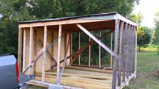 Video Converting my lean-to into a shed download MP3, 3GP, MP4, WEBM, AVI, FLV Juli 2018