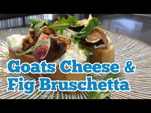 KITCHEN CRAFT - Goats Cheese & Fig Bruschetta