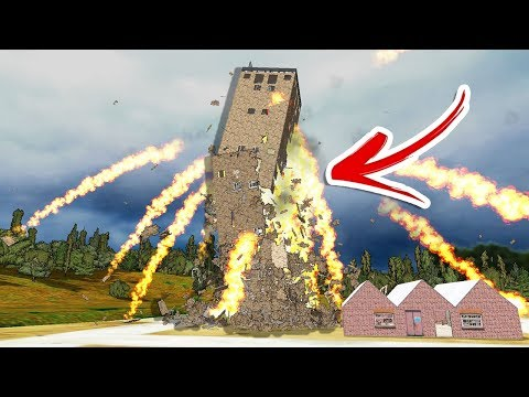 This Game Has The BEST Destruction Physics EVER! Destroying Houses With Nukes! - Detonate