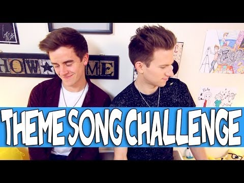 THEME SONG CHALLENGE W/ CONNOR FRANTA | RICKY DILLON