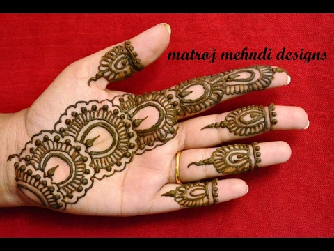 Mehndi Henna Buy : Easy simple mehndi henna designs for handsmatroj