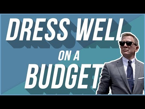 Dressing Well On A Budget   Affordable Men's Fashion Tips