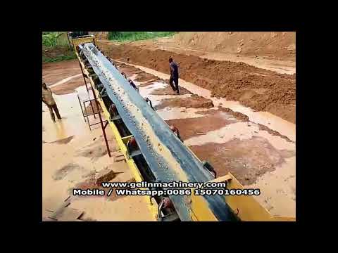 Complete sets turn key alluvial gold washing plant with EPC service