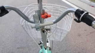 자전거 우산 /실용신안특허 등록 완료 브라켓