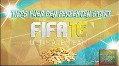 FIFA 16 ULTIMATE TEAM TIPPS FÜR DEN PERFEKTEN START | FIFA FUT 16 HD