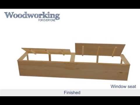Woodworking for Everyone: Window Seat