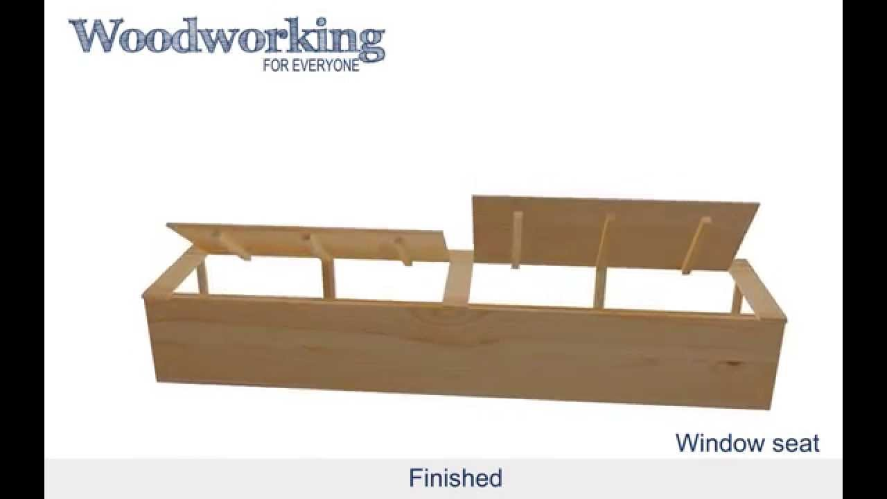 Woodworking For Everyone: Window Seat   YouTube