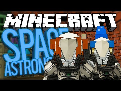 Minecraft Space Astronomy - RARE EARTH ELEMENTS! #26 [Modded HQM Survival