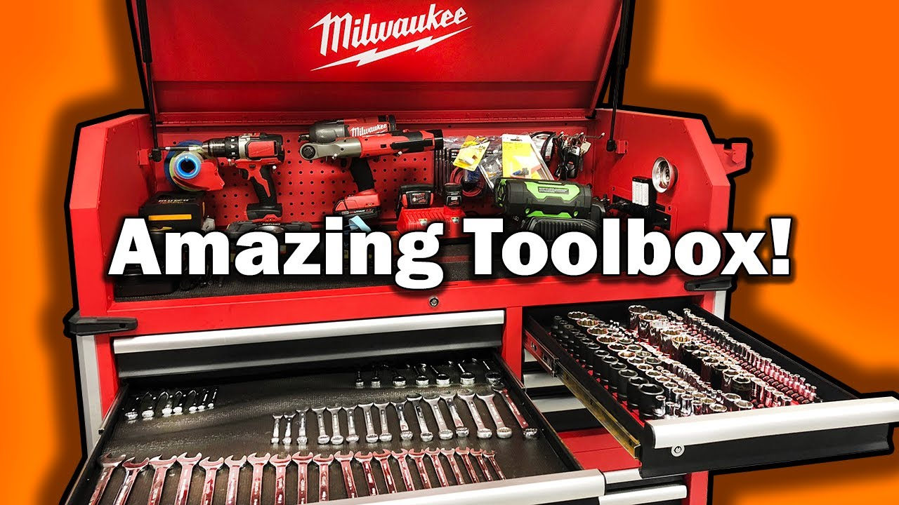 Project dream garage part 3 milwaukee 48 22 8546 tool chest youtube project dream garage part 3 milwaukee 48 22 8546 tool chest solutioingenieria Image collections