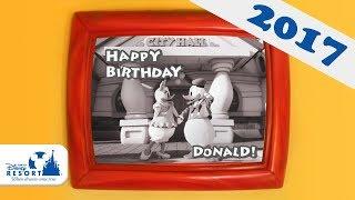 6月9日はドナルドのお誕生日。 ドナルドはデイジーを誘って、誕生日デー...