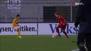 FC Vaduz vs FC Schaffhausen 1-0 Nicolas Jüllich Goal