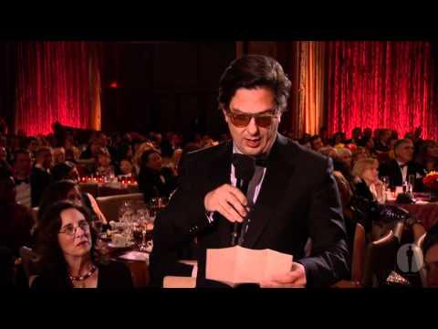 2010 Governors Awards  Roman Coppola on Francis Ford Coppola