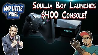 New Soulja Boy $400 Gaming Console The SouljaGame Fuze!