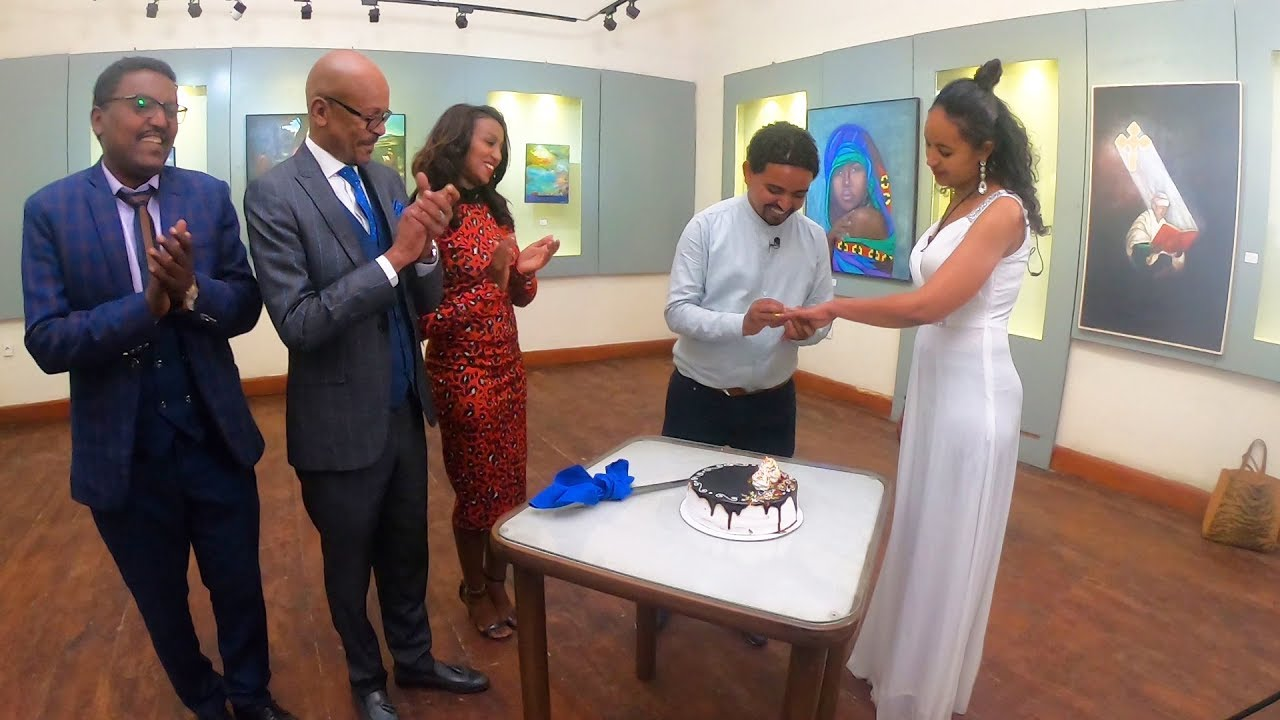 EBS TV marriage proposal Ethiopian man propose to his girlfriend