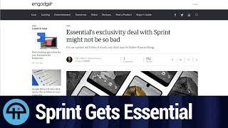 Essential Phone = Sprint Exclusive