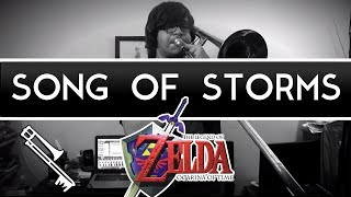 Zelda: Ocarina of Time - Song of Storms : Jazz Cover ‖ Eric L.