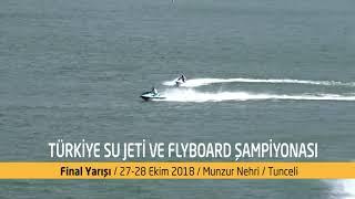 Türkiye Su Jeti ve Flyboard Şampiyonası Tunceli
